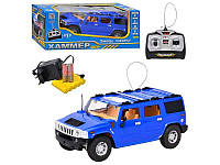 Внедорожник на радиоуправлении Хаммер 396-20, двери/багажник открываются, пульт ДУ, зарядное устройство