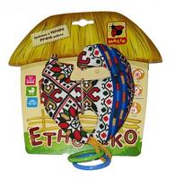 Погремушка Этно - Эко Котик с кольцами МК3103-01 Максик