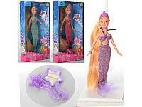 Кукла русалка Defa 8236, 3 цвета