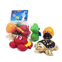 Набор игрушек-пищалок для купания N210
