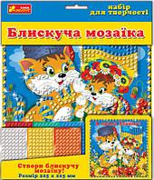 """Набор для творчества 5558 Блестящая мозаика """"Я люблю Украину 13165010У Ranok Creative"""