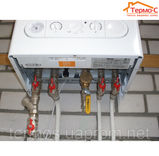 Настенный газовый двухконтурный котел CIAO предназначен для отопления и горячего водоснабжения помещений различного...