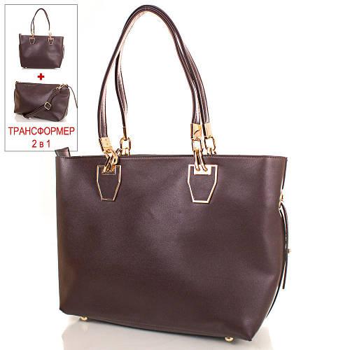 Элегантная женская сумка из качественного кожзаменителя ANNA&LI (АННА И ЛИ) TUP14460-10