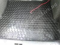 Коврик в багажник SKODA Octavia Tour с 1996-2010 гг. лифтбэк (AVTO-GUMM) пластик+резина