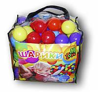 Шарики мягкие для сухих бассейнов и палаток, 80 мм 100 шт в сумке