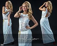 Белое платье в пол открытая спина