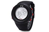 Часы мужские спортивные водозащитные O.T.S T7005G, 5 атм, черные