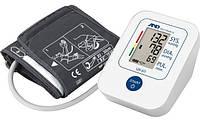 Тонометр автоматический AND UA-611 на плечо c индикатором аритмии, памятью на 30 измерений, Япония