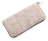 Недорогой серый чехол-футляр для мобильного телефона на молнии с тисненым рисунком