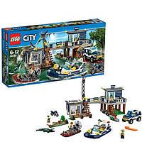 Lego City Участок болотной полиции 60069