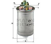 Фильтр топливный MANN WK 842/4