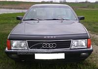 Дефлектор капота VIP TUNING (мухобойка) Audi 100 ( 44кузов С3) 1983-1991