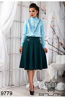 Элегантная пишная  юбка женская, доставка по Украине