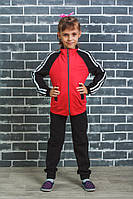 Спортивный костюм детский красный, фото 1