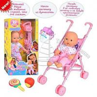 Интерактивная кукла-пупс Маша с коляской
