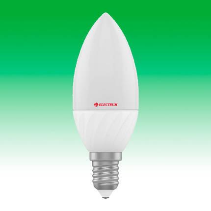 Светодиодная лампа LED 7W 2700K E14 ELECTRUM LC-12 (A-LC-0431), фото 2