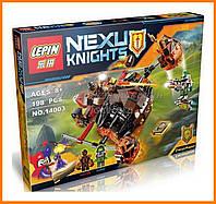 """Конструктор аналог Lego Нексо найтс """"NEXO KNIGHTS"""" 14003 Лавинный разрушитель Молтора"""