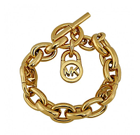 Браслет Michael Kors Logo Lock Golden Toggle Bracelet MKJ1046710