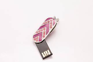 "Флэшка Ювелирная ""Розовый брелок""  64 GB , фото 2"