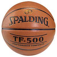 Баскетбольный мяч  Spalding TF-500 Composite Leather р. 7 (30 01503 01 1217)