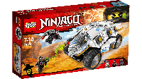 Lego Лего  Ninjago Внедорожник титанового ниндзя 70588