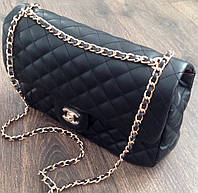 Сумка - Клатч Chanel  черная (копия)