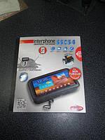 Крепление для смартфонов и навигаторов на руль мотоцикла INTERPHONE SSC 54