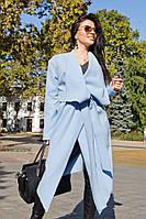 """Модное женское пальто из шерсти букле """"Баги"""""""