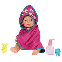 Полотенце для куклы 43 см набор для купания Baby Born Zapf Creation