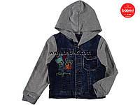 Куртка джинсовая  для мальчика на 4-5-6-7 лет.код.204168