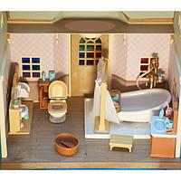 Детский игровой набор ванная комната Happy Family с аксессуарами