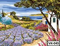 Картина на холсте по номерам VK 045  40x30см
