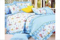 Детский комплект постельного белья Love You Сатин 112х147 манеж  CR 398  Малыш