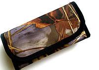 Подсумок камуфляжный двухрядный закрытый на 12 патр.(12,16к)