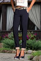 Летние модные брюки из стрейч-коттона 42-50 размеры