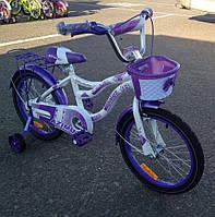 Детский двухколесный велосипед Azimut Kiddy 16 дюйм