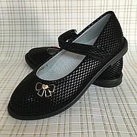 Детские школьные туфли для девочек 27-31