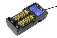 Зарядное XTAR VC2 аккумуляторный батарей всех типов и 18650