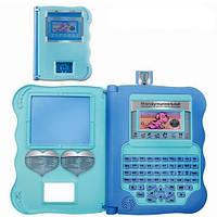 Детский интерактивный планшет Bambi MD 8891 ER, 140 упражнений, 2 языка (русс,англ)
