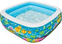 Надувний  басейн  Intex Акваріум