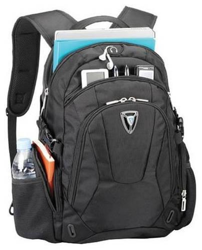 """Комфортный городской рюкзак 26 л. для ноутбука до 16"""" из полиэстера Sumdex PON-368BK черный"""