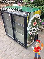Барная холодильная витрина Falkon для алкогольных и безалкогольных напитков двухдверная