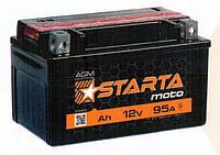 Мотоаккумулятор гелиевый 6 мтс 9 Starta AGM