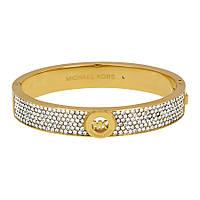 Браслет Michael Kors Fulton Gold-tone Crystal Pave Hinge Bangle Bracelet MKJ3998710