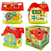 Развивающая игрушка-сортер Чудо-домик  M0001  для мальчиков и девочек
