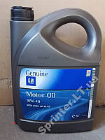 Масло 10W-40 GM Semi Synthetic  5L