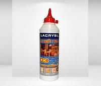 Клей универсал. ПВА  D3 водостойкий 0,4 кг Lacrysil
