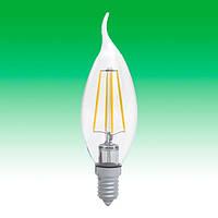 Светодиодная лампа LED 4W 3000K E14 ELECTRUM LC-4F (A-LC-0414)