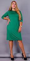 Арина. Платье больших размеров. Бирюза., фото 1