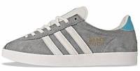 Мужские кроссовки Adidas Gazelle (адидас газели) серые